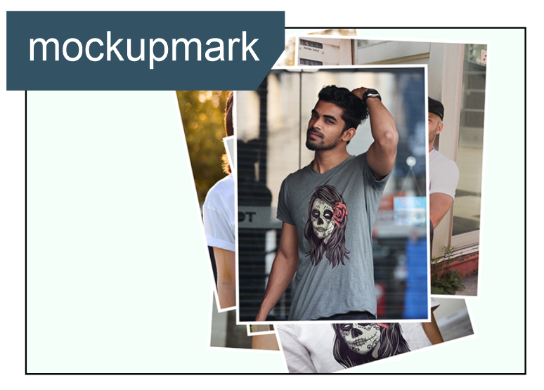 mockupmark.com is an online mock-up generator specializing in apparels, lifestyle products and garments