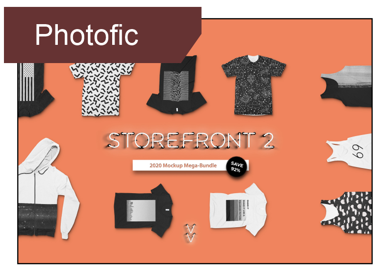 Photofic Storefront 2 - a stand alone app for  mock-up generator for t- shirts